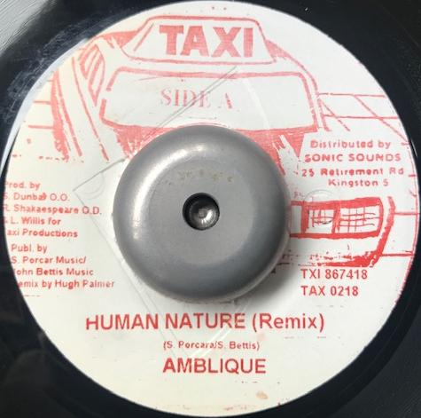 AMBLIQUE ‎/ HUMAN NATURE (REMIX)