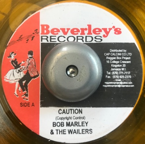 BOB MARLEY & THE WAILERS ‎/ CAUTION / STOP THE TRAIN