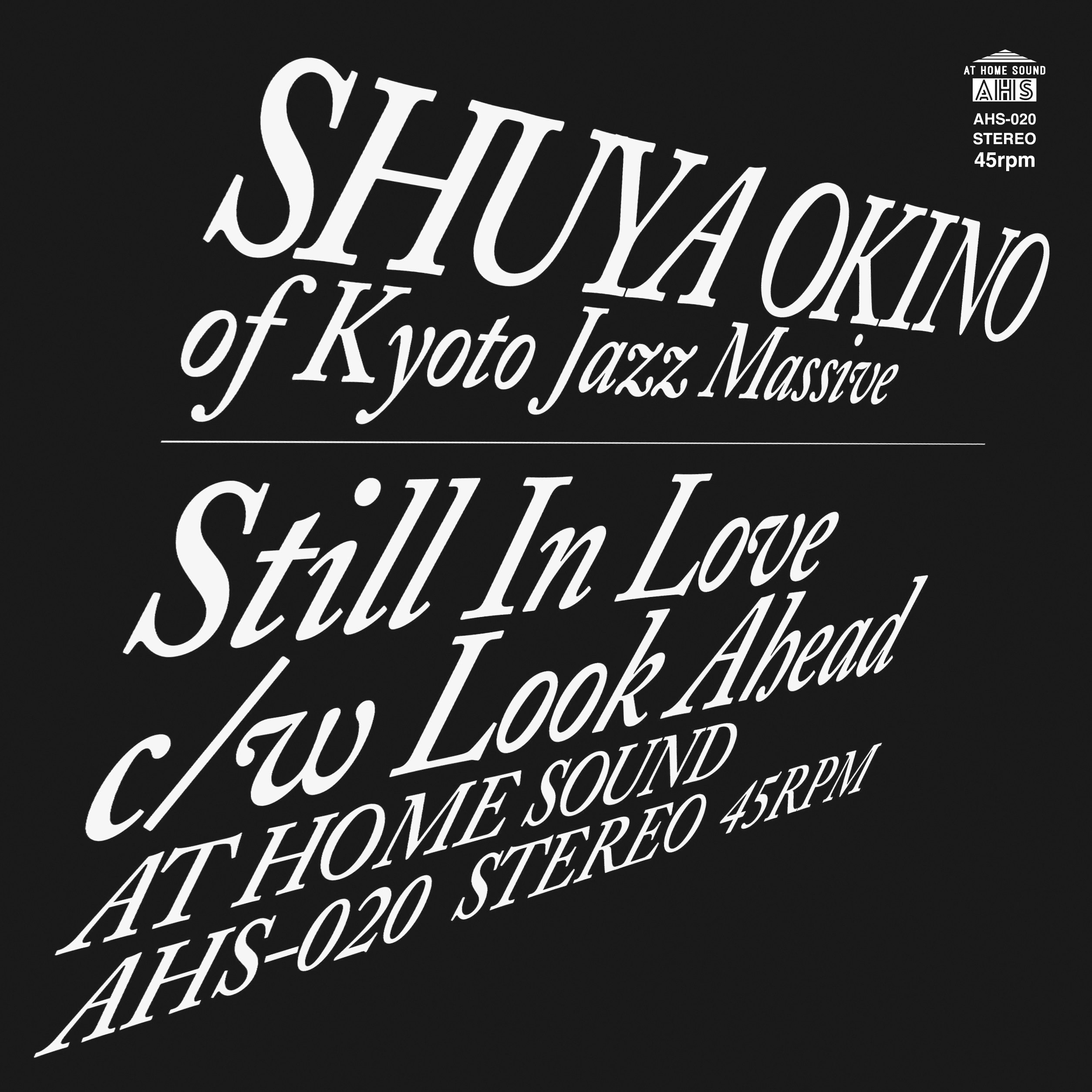 SHUYA OKINO (沖野修也) / STILL IN LOVE