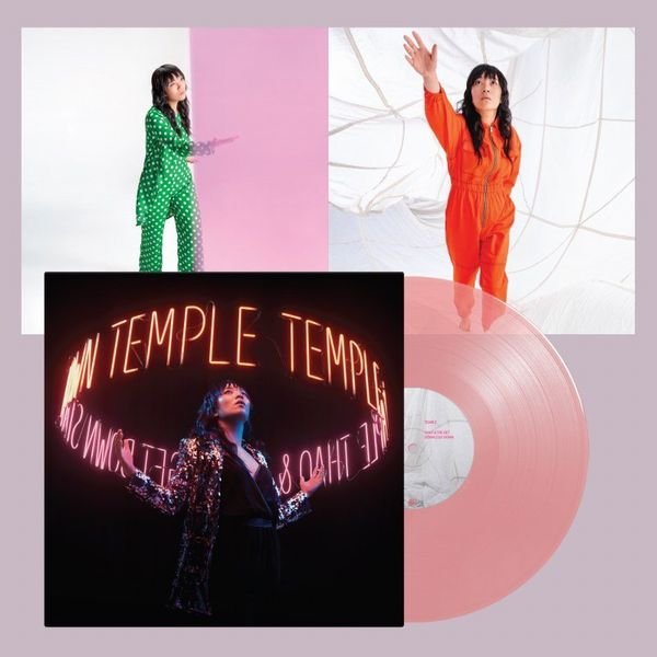 THAO & THE GET DOWN STAY DOWN / TEMPLE (LTD CLEAR PINK VINYL)