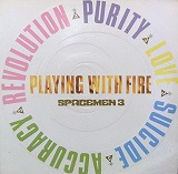 SPACEMEN 3 / PLAYING WITH MEのアナログレコードジャケット