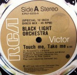 BLACK LIGHT ORCHESTRA / TOUCH ME TAKE ME