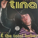 TINA & THE TOTAL BABES / SHE'S SO TUFFのアナログレコードジャケット