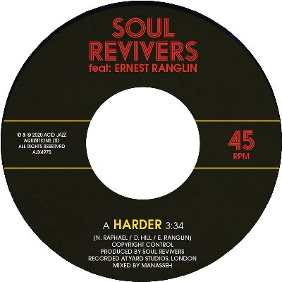 SOUL REVIVERS FEAT ERNEST RANGLIN / HARDER