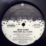 JEAN CARN / WAS THAT ALL IT WAS