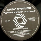 STUDIO APARTMENT / LOVE IS THE ANSWER