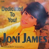 JONI JAMES / DEDICATED TO YOU !