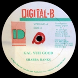 SHABBA RANKS / GAL YUH GOOD