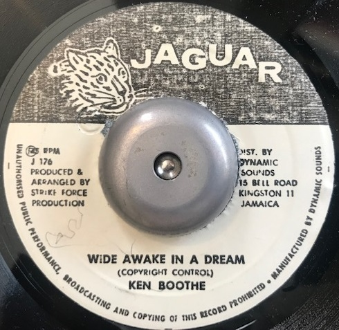 KEN BOOTHE ‎/ WIDE AWAKE IN A DREAMのアナログレコードジャケット