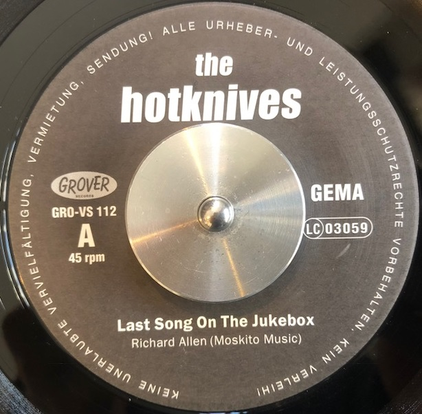 HOTKNIVES / LAST SONG ON THE JUKEBOX